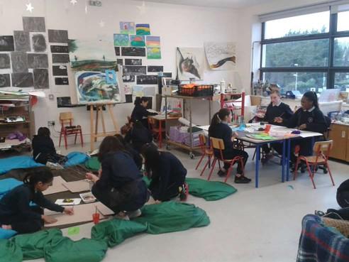Studio activity, Scoil Bhríde Cailíní